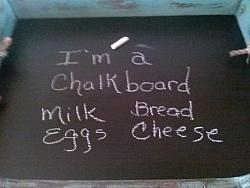 Stove Top Cover / Chalkboard / Tray