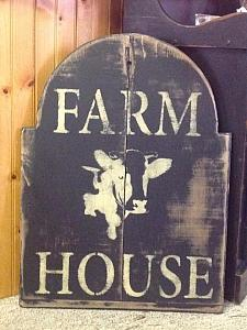 Cow Picture / FREE SHIPPING ! / farmhouse Sign / rustic sign