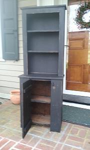 2 Piece Farmhouse  Cupboard - Free Shipping