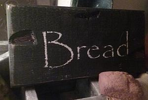 Bread sign with FREE SHIPPING !