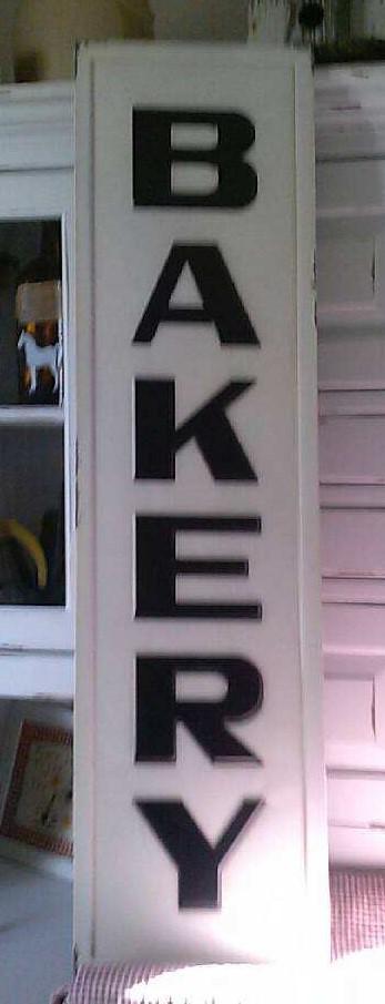 Bakery Sign / Metal Sign / Farmhouse decor