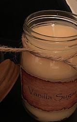 Vanilla Sugar Jar Candle