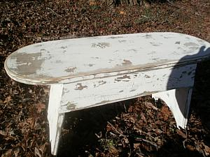 Rustic Country Bench / Coffee Table FREE SHIPPING !