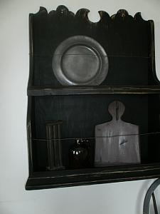Hanging Plate Holder / Crock display shelf