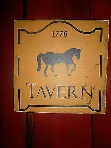 Tavern Sign / Horse Sign FREE SHIPPING