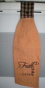 Tab Towel (Faith, Hope , Love) SALE !