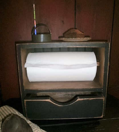 Paper Towel Holder With Drawer