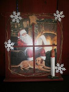 Holiday Decor / Santa picture