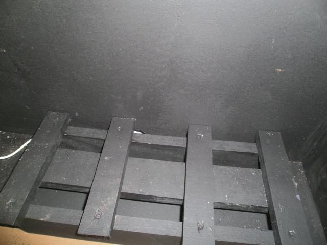 Faux Fireplace w / bottom plat form