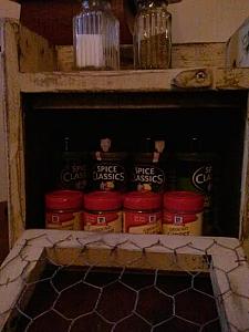 Counter Top Potato / onion bin / spice cabinet