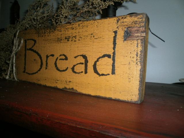 Bread sign
