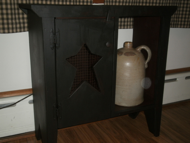 Side Table FREE SHIPPING / with  open display shelf