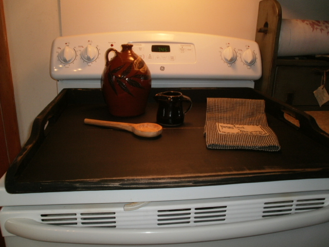 Stove Top Cover / appliance cover / Noodle Board